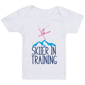 Skiing Baby T-Shirt - Skier In Training