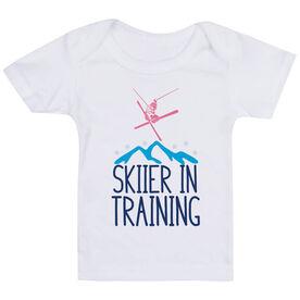 Skiing Baby T-Shirt - Skier In Training