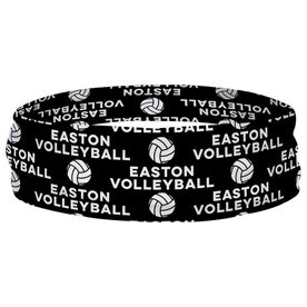 Volleyball Multifunctional Headwear - Custom Team Name Repeat RokBAND