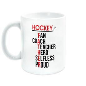 Hockey Coffee Mug - Hockey Father Words