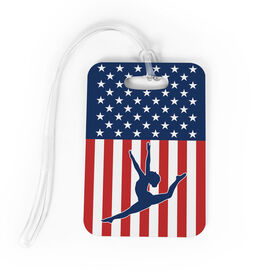 Gymnastics Bag/Luggage Tag - USA Gymnastics Girl