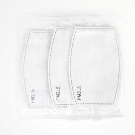 Additional Face Mask Filters (Set of 3)