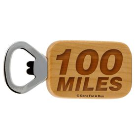 100 Miles Maple Bottle Opener