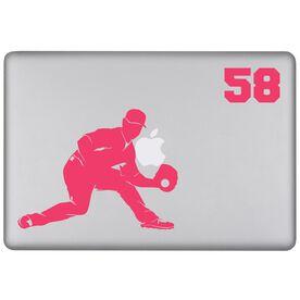 Baseball Personalized Fielder Removable ChalkTalkSPORTSGraphix Laptop Decal
