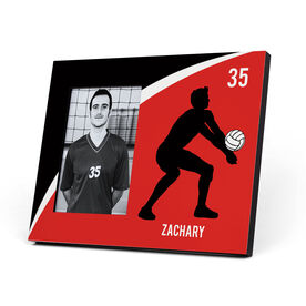 Volleyball Photo Frame - Personalized Guy Player