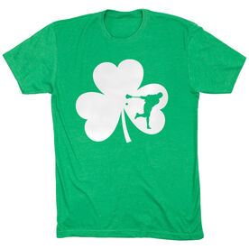 Guys Lacrosse Short Sleeve T-Shirt - Shamrock