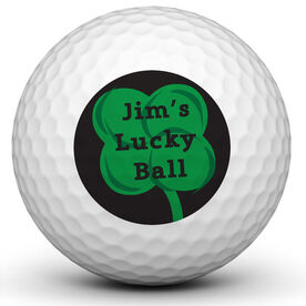 Personalized Lucky Ball Golf Ball
