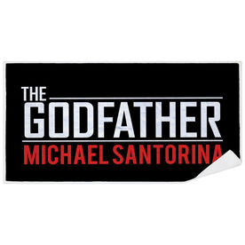 Personalized Premium Beach Towel - The Godfather