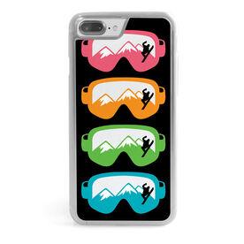 Snowboarding iPhone® Case - Multicolored Snow Goggles