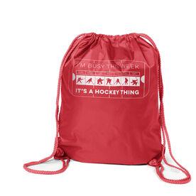Hockey Sport Pack Cinch Sack - 24-7 Hockey