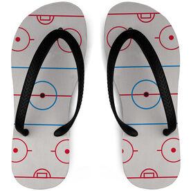 Hockey Flip Flops Rink