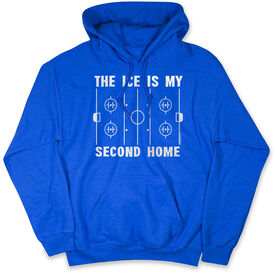 Hockey Standard Sweatshirt - The Ice Is My Second Home