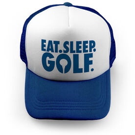 Golf Trucker Hat - Eat Sleep Golf