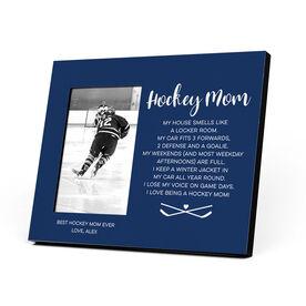 Hockey Photo Frame - Hockey Mom Poem