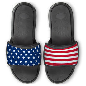 Repwell® Slide Sandals - USA Flag