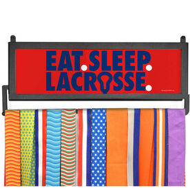 AthletesWALL Medal Display - Eat Sleep Lacrossse