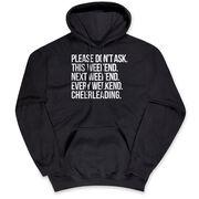 Cheerleading Hooded Sweatshirt - All Weekend Cheerleading