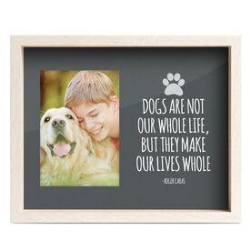 Premier Frame - Dog Quote