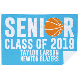 Basketball Premium Blanket - Personalized Basketball Senior Class Of