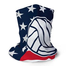 Volleyball Multifunctional Headwear - USA Flag RokBAND