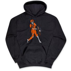 Baseball Hooded Sweatshirt - Home Run Zombie