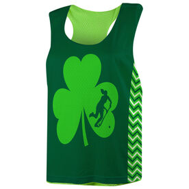 Field Hockey Racerback Pinnie - Field Hockey Shamrock