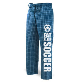Soccer Lounge Pants Eat Sleep Soccer