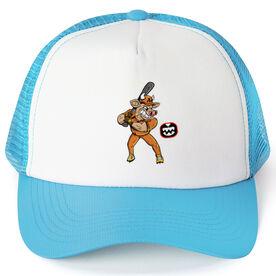 Seams Wild Baseball Trucker Hat - Spikes