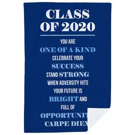 Premium Blanket - Class Of 2020 Carpe Diem