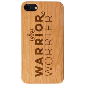 Engraved Wood IPhone® Case - Warrior Worrier