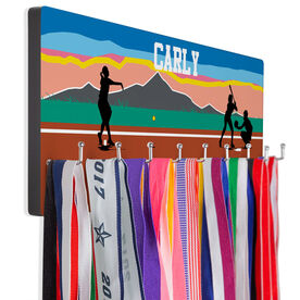 Softball Hooked on Medals Hanger - Morning Game