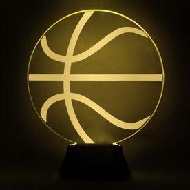 Basketball Acrylic LED Lamp Ball