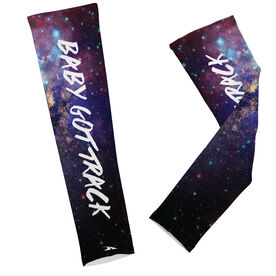Track Printed Arm Sleeves Baby Got Track