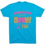 Cheerleading Tshirt Short Sleeve Cheerleader From Bow 2 Toe