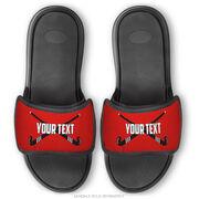 Field Hockey Repwell® Sandal Straps - Personalized Crossed Sticks