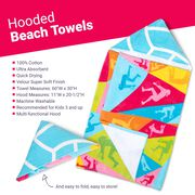Volleyball Hooded Towel - Players
