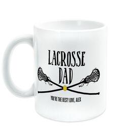 Girls Lacrosse Coffee Mug - Lacrosse Dad