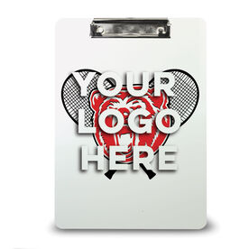 Tennis Custom Clipboard Tennis Your Logo