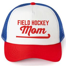 Field Hockey Trucker Hat - Mom