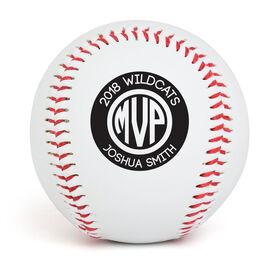 Custom Baseball MVP Monogram With Name
