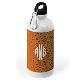 Fly Fishing 20 oz. Stainless Steel Water Bottle - Brown Trout