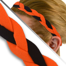 GripBand Headband - Orange/Black