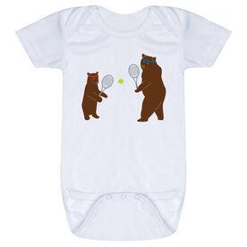 Tennis Baby One-Piece - Bears