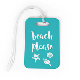 Bag/Luggage Tag - Beach Please