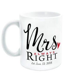 Personalized Coffee Mug - Mrs. Always Right