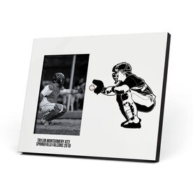 Baseball Photo Frame - Catcher