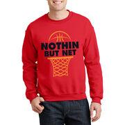 Basketball Crew Neck Sweatshirt - Nothing but Net