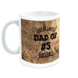 Baseball Coffee Mug Team Dad Of