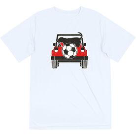 Soccer Short Sleeve Performance Tee - Soccer Cruiser