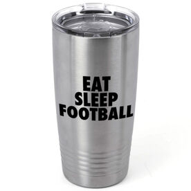 Football 20 oz. Double Insulated Tumbler - Eat Sleep Football